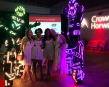 charity-event-entertainment-led-robot