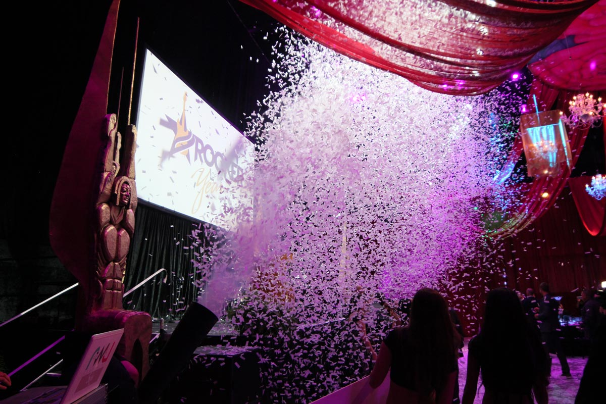 event confetti special effects