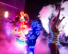 rooftop-birthday-party-led-robot-event