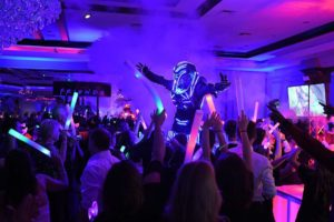 LED Robot Corporate Party